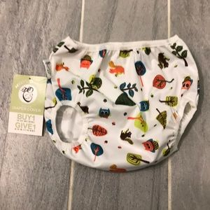 Pull on diaper cover